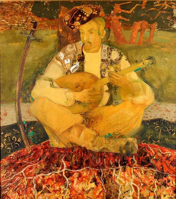 Kozak Mamay Folk Painting